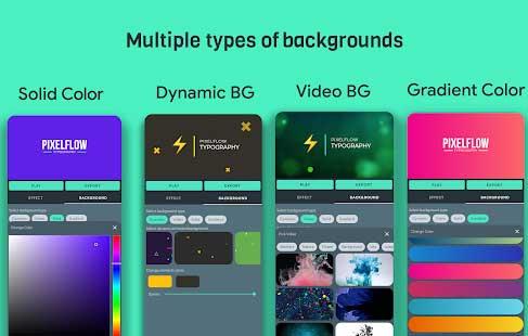 PixelFlow – Intro maker and text animator 2.0.6 (Premium) Android