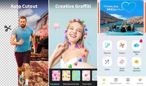Photo Editor Cutout Background Cut Paste Mod Apk