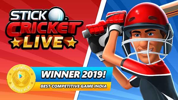 Stick Cricket Live Mod Apk
